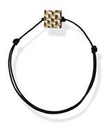 """Bracelet 1 petit élément """"Poisson"""" en argent"""