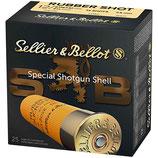 Sellier & Bellot 12/67,5 Rubber-Schrot 7,5mm  *EWB Pflichtig