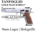 """Tanfoglio Pistole Mod. Gold Match BDS -6"""" Kaliber 9mm *EWB PFLICHTIG"""
