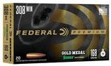 .308 Win. Premium Gold Medal Sierra Match King 10,9g/168grs. *EWB Pflichtig
