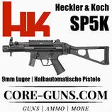 HK SP5K mit Picatinnyschiene 9 mm Luger *EWB Pflichtig
