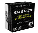 Magtech 9mm Luger GG 124grs. Guardian Gold,  Jacketed-Hollow-Point VPE 20St.  *EWB Pflichtig 4VPE = 80 Schuss