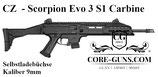 Selbstladebüchse Scorpion Evo 3 S1 Carbine - 9mm *EWB Erforderlich