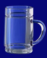 Teeglas SAN glasklar-blau-braun