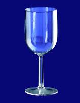 Weinglas 0.25l SAN glasklar, weiss und schwarz