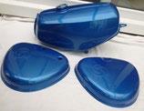 Tankset blau metallic passend Simson S50, S51  Neu
