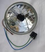 Scheinwerfer Reflektor Halogen Klarglas mit Standlicht E-Nr.passend Simson S50, S51, S70 Neu