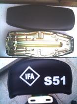 Sitzbank glatt Logo S51 Simson S50,S51,S70 Neu