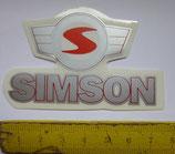 Aufkleber Knieblech u.a.(Simson-S) passend Simson KR51 u.a. Neu