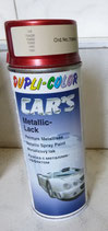 Farbe Spray metallic rot 400ml. von Dupli Color