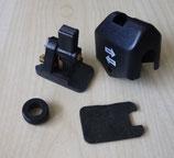 Blinkschalter schwarz Plaste komplett passend für Simson S50, KR51/1, SR4- MZ: ES, TS u.a. Neu