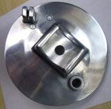 Bremsschild vorn poliert passend Simson S50,S51 S70 KR51/2  Neu