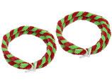Nabenputzring rot/grün im Satz 56cm passend Simson S50, S51, KR51, SR4- u.a.  Neu