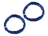 Nabenputzring blau/lila im Satz 56cm passend Simson S50, S51, KR51, SR4- u.a. Neu