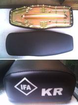 Sitzbank glatt mit Logo KR passend Simson KR51, SR4-2 u.a. Neu