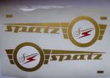 Aufkleber passend Simson Spatz SR4-1  Tank oder Seitendeckel