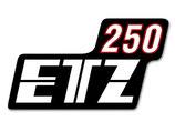 Aufkleber passend MZ:  ETZ250 Neu