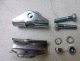 Widerlager - Set für Gepäckträger mit langen Stützbügel passend Simson S50,S51,S70 Neu