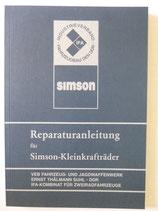 Reparaturbuch Reparaturanleitung für Simson S50 KR51 und SR4- Ausgabe 1978 DDR