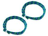 Nabenputzring grün/blau im Satz 56cm passend Simson S50, S51, KR51, SR4- u.a. Neu