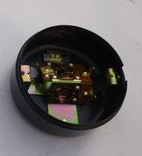 Rücklichtunterteil Gehäuse 100mm rund Metall passend für alle Simson S51,S50,KR51/1,  MZ u.a. Neu