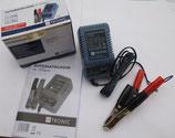 Ladegrät für Batterien-GelAkkus 6V und 12V passend Simson, MZ u.a.  Neu