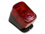 Rücklicht komplett E-Nr. eckig rot passend für alle Simson KR51/1, SR4- u.a. Neu
