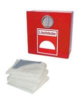 Löschdecke inkl. Löschdeckenbehälter nach DIN EN 1869