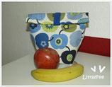Lunchbag Äpfel grün
