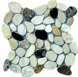 31x31 cm Mosaico Sassi Tagliati