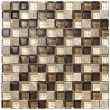 Mosaico Mix Brown Beige
