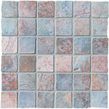 Mosaico 5x5 cm Indaco Maya Azteca