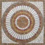 Rosone in marmo Cerchio Noce