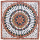 Rosone in marmo Cerchio Rosso