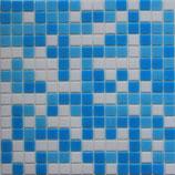 Mosaico Pasta Mix Azzurro Bianco