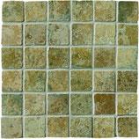 Mosaico 5x5 cm Verde Maya Azteca