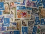 Timbres de 45 centimes de francs (X50)