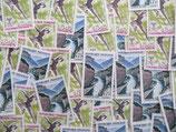 Timbres de 75 centimes de francs (X50)