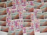 Timbres de 2,50 francs (X50)