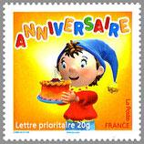 Timbres pour lettres de 20 grammes prioritaire valeur permanente Ouioui (X10)