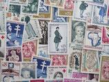 Timbres de 25 centimes de francs (X50)