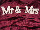Mr & Mrs aus Holz