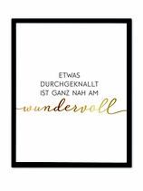 """stil.eben Poster """"wundervoll"""""""