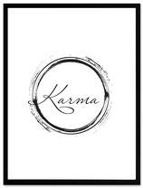 "stil.eben Poster ""Karma"" 30x40"