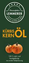 Kürbiskernöl 500 ml / 250 ml / 100 ml