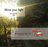"CD ""Grundschule Dahn mit Chor Kreuz & Quer - Shine your light"""
