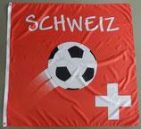 Schweiz mit Fussball