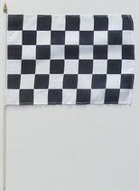 Zielflagge Stockfahne