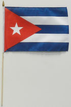 Kuba Stockfahne