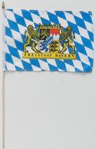 Bayern Stockfahne